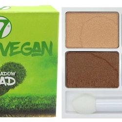 W7 VERY VEGAN Eyeshadow Quad-Autumn Amber