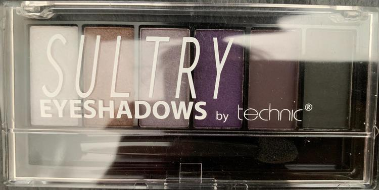 Technic Shimmer Sultry Eyeshadow Kit - Purple