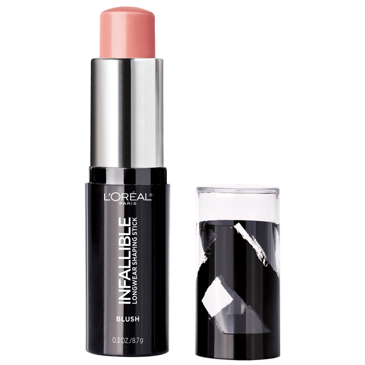 L'Oreal Infallible Blush Longwear Shaping Stick-Sexy Blush