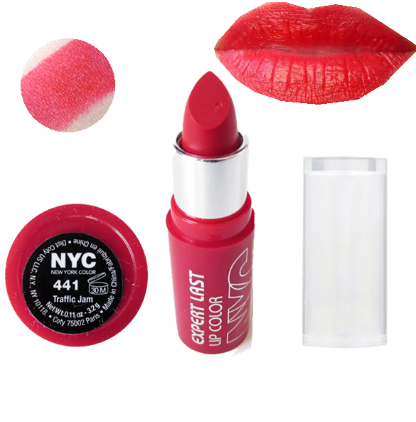 NYC Expert Last SATIN MATT Lipstick - 441 Traffic Jam