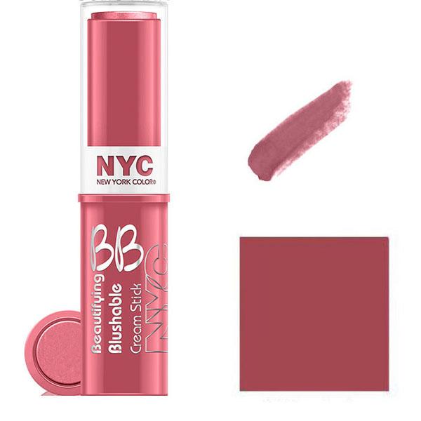 NYC BB Cream To Powder Blush Stick- SOHO PINK