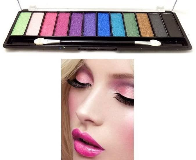 Saffron Chic-Color 12 Pearl Eyeshadow Palette