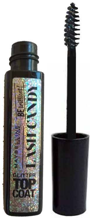 Maybelline Lash Candy Glitter Be Brilliant Top Coat Mascara