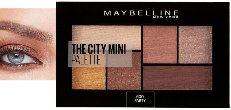 Maybelline The City Mini Eyeshadow Palette - 600 Party