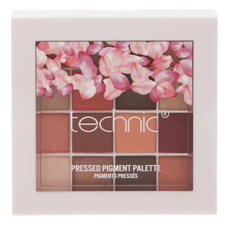 Technic Spring Vegan-suitable Matte Satin Pearl Shimmer Pressed Palette