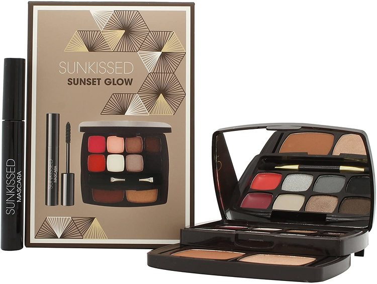 SUNKissed Sunset Glow Travel Compact Makeup Kit