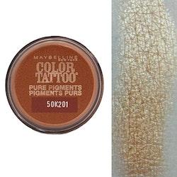 Maybelline Tattoo Pure Pigments 24H Eyeshadow-Breaking Bronze