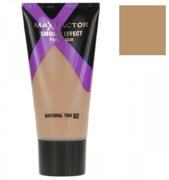 Max Factor Smooth Effect Foundation-82 Natural Tan