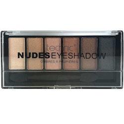 Technic Matte Shimmer Nude Eyeshadow Kit  - Nude