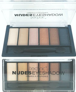 Technic Matte Shimmer Nude Eyeshadow Kit  - Nude