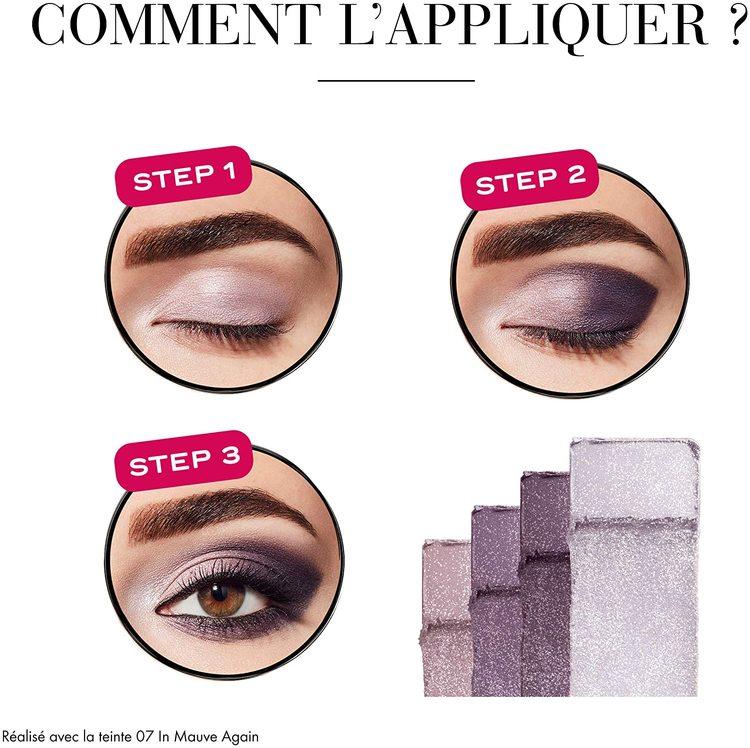 Bourjois Smoky Eyeshadow Palette-Brilliant Prunette