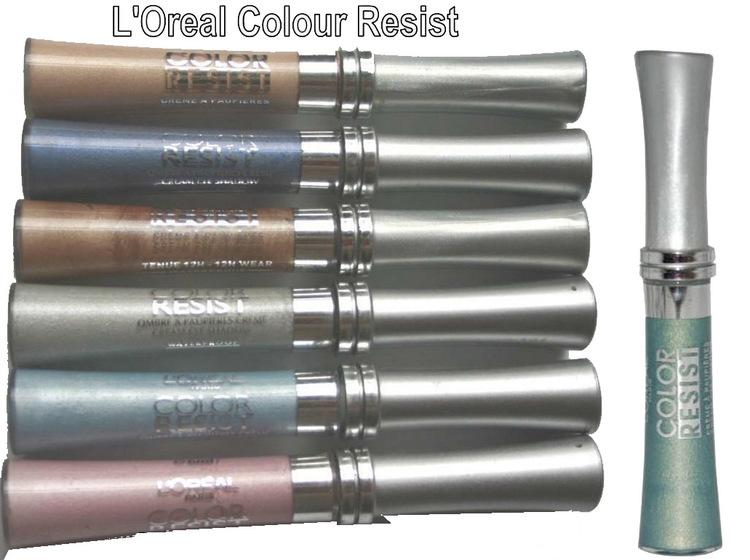 L'Oreal Color Resist WATERPROOF CREAM Eye Shadow - 25 Golden Green