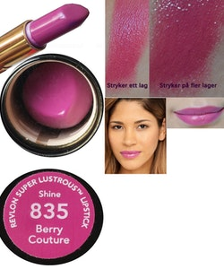 Revlon Super Lustrous SHINE Lipstick - Berry Couture