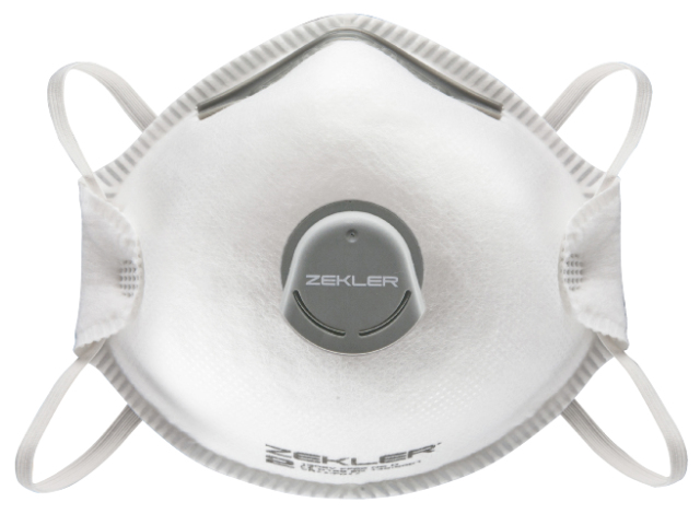 10PCS Zekler Face Mask Valved Respirators FFP2