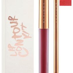 Contour Cosmetics Lip Kit - Liner and Matte Liquid Lipstick Vegas