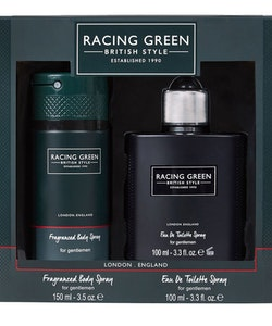 British Style Racing Green GiftSet-EDT 100ml+Deospray 150ml