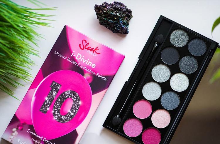 Sleek I-Divine Mineral Eye Shadow Palette-Diamond Decade