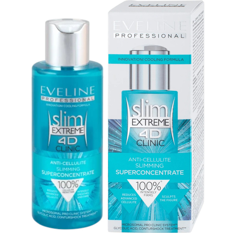 Eveline Slim Extreme 4D Clinic Anti-Cellulite Slimming Superconcentrate