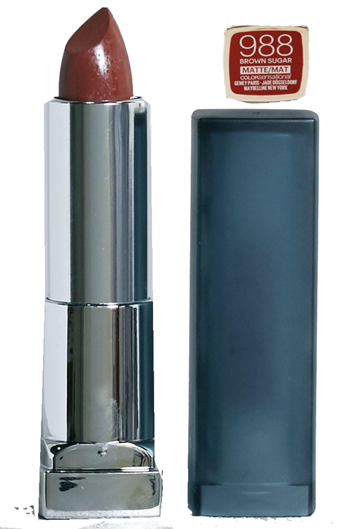 Maybelline Color Sensational Matte Lipstick-988 Brown Sugar