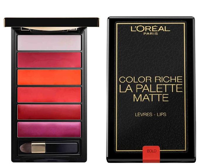 L'Oreal Color Riche Lip Matte Palette-Bold Matte
