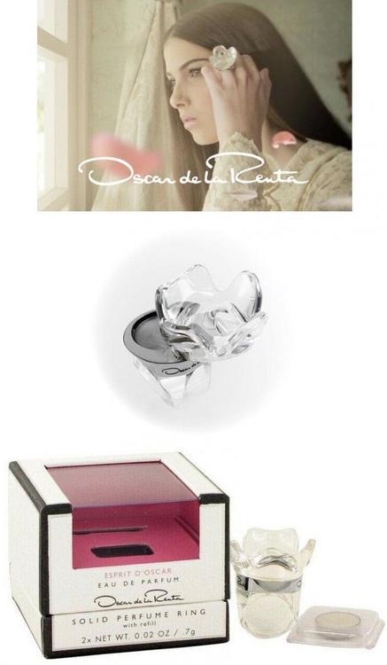 Oscar de la Renta Esprit D'oscar Solid Perfume Ring With Refill