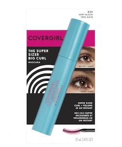 Covergirl The Super Sizer Big Curl Waterproof Mascara-Very Black