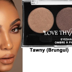 Love Thy Make Up London Eyeshadow Palette-Tawny