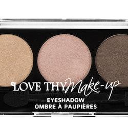 Love Thy Make Up London Eyeshadow Palette-Nude