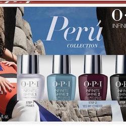 OPI Infinite Shine Peru Collection-Primer, Alpaca and Yes My Condor, Gloss