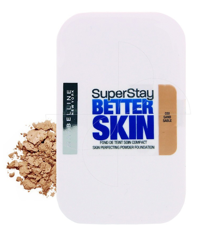 Maybelline SuperStay Better Skin Powder Foundation - 030 Sand