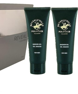CK Reveal EDT 100ml+2PCS Beverly Polo Club Classic Shower Gel