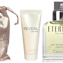 Calvin Klein Eternity EDT 100ml+Reveal Sensual Body Lotion 100ml