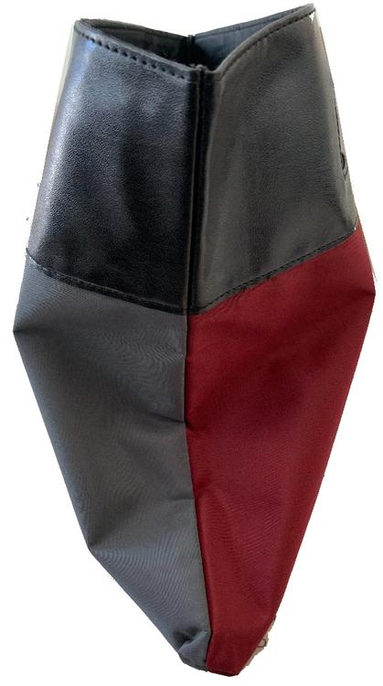 Elizabeth Arden Folding Tote Bag Red/Grey Black Handles