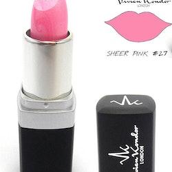 Vivien Kondor Vegan Friendly Cruelty Free MATTE Lipstick - 27 Sheer Pink