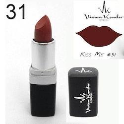 Vivien Kondor Vegan Friendly Cruelty Free Matte Lipstick - 31 Kiss Me