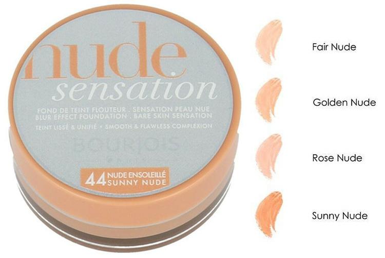 Bourjois Nude Sensation BLUR Effect Foundation - 44 Sunny Nude