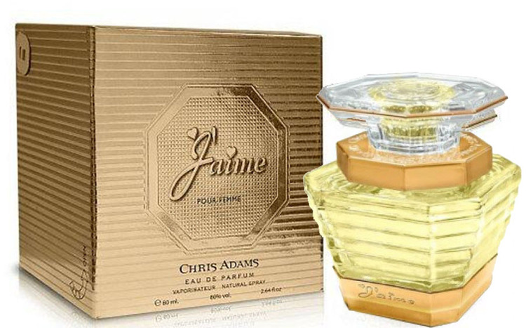 Chris Adams J'aime Pour Femme EDP 80ml