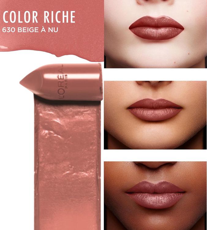 L'Oreal Color Riche Satin Lipstick-630 Beige A Nu