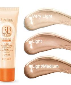 Rimmel BB Cream Radiance 9-in-1 Skin Perfecting Super Makeup SPF20