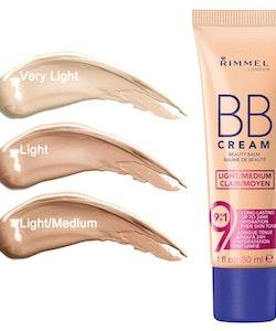 Rimmel BB Cream 9 in 1 Super Makeup SPF 15 - Light/Medium