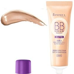 Rimmel BB MATTE Cream 9 in 1 Super Makeup SPF 15 - Light