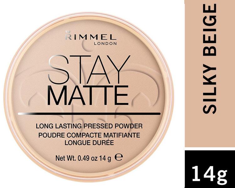 Rimmel Stay Matte Lasting Pressed Powder - Silky Beige