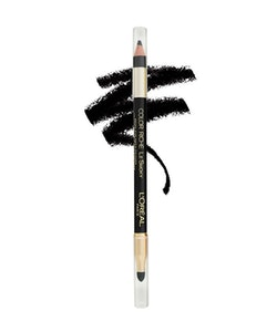 L'Oreal Riche Le Smoky Pencil Eyeliner and Smudger-201 Black Velour