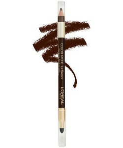 L'Oreal Riche Le Smoky Pencil Eyeliner and Smudger - Brown Fusion