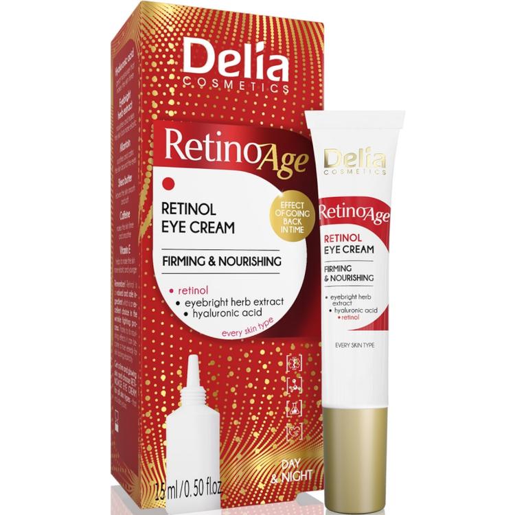 Delia Retinoage Firming & Nourishing Retinol Eye Cream