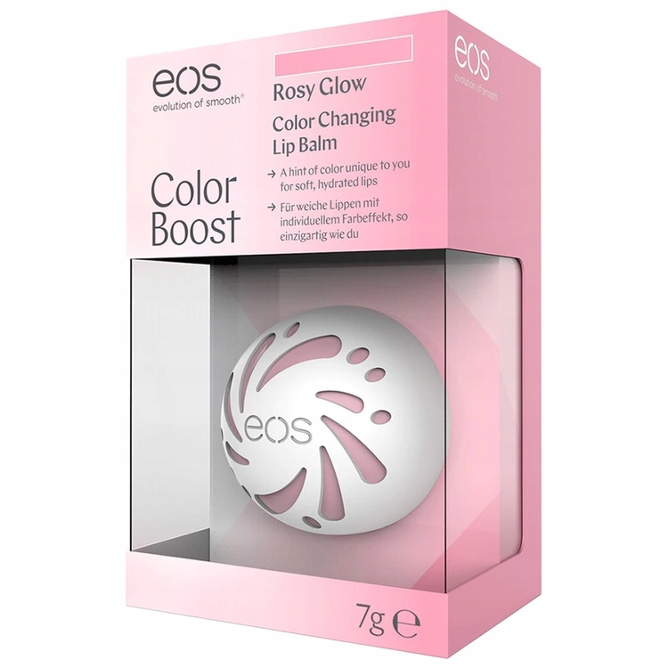 EOS Color Changing Lip Balm-Rosy Glow