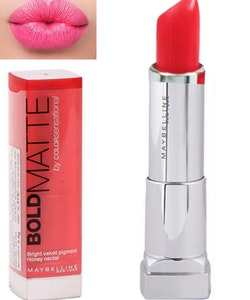 Maybelline Color Sensational BOLD Matte Lipstick-Mat 1 Coral Red