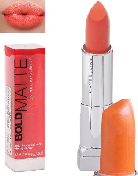 Maybelline Color Sensational BOLD Matte Lipstick-Mat3 Coral