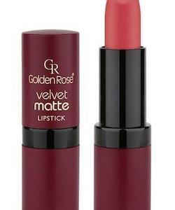 Golden Rose Velvet Matte Lipstick-Indian Red