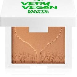 W7 Very Vegan Matte Bronzer Compact With Mirror-Sun-Kissed